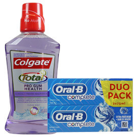 Toothpaste and mouthwash