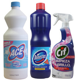 Bleach and disinfectant