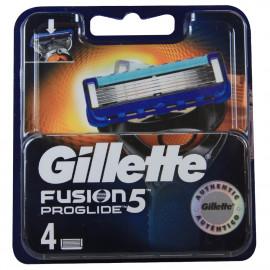Gillette Fusion Proglide blades minibox 4 u.