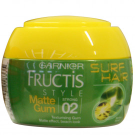 Fructis style gomina 150 ml. Surf Hair efecto mate.