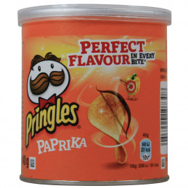 Pringles potato crisps 40 gr. Sweet Paprika.