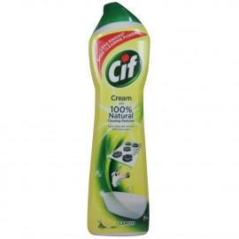 Cif cleaner cream 500 ml. Lemon.