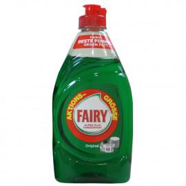 Fairy lavavajillas líquido 383 ml. Original.