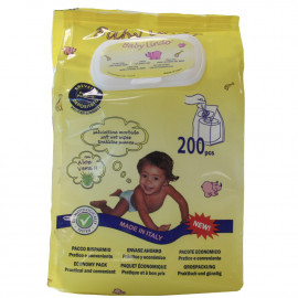 Baby Lindo toallitas pop-up 200 u.