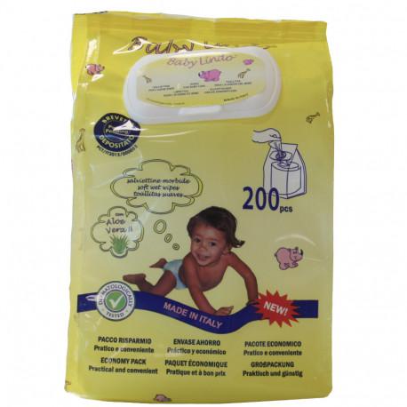 Baby Lindo toallitas pop up 200 u.