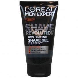 L'Oréal Men expert shave gel 150 ml. Ice Effect.