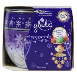 Glade air freshener candle 120 gr. Celebration.
