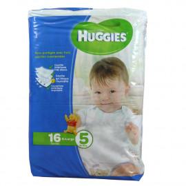 Huggies nappies size 5, 13-18 kg. 16 u.