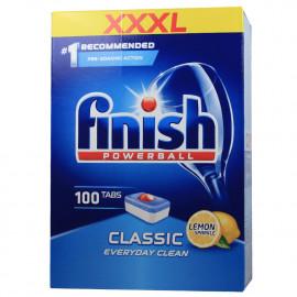 Finish Powerball Classic 100 u. Lemon.