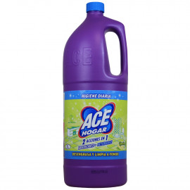 Ace Hogar bleach + detergent 2 in 1 - 2 l. Lemon.