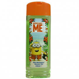 Minions bath gel & shampoo 2 in 1 236 ml.