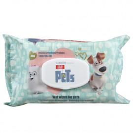 Toallitas húmedas Mascotas para animales domésticos 40 u. Pop-up.