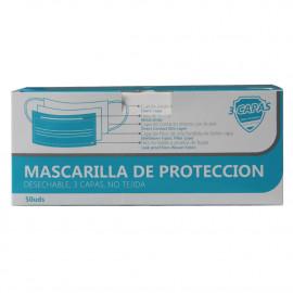 3 LAYERS protective facial mask 50 u. 3 capas.