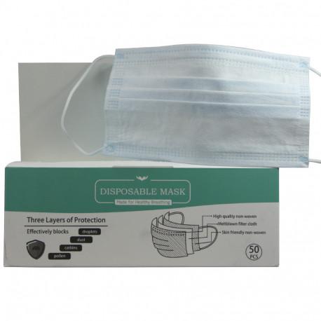 Lov'yc protective facial mask 50 u. FFP2 99% 3 layers.
