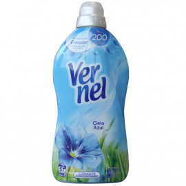 Vernel concentrated softener 1,140 l. Blue Sky.