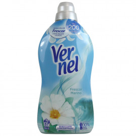 Vernel concentrated softener 1,311 l. Aquamarine.