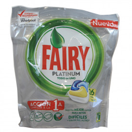 Fairy platinum 26 u. Lemon capsule.