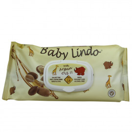 Baby Lindo toallitas 72 u. Aceite de Argan pop-up.