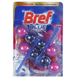 Bref WC Blue Active + 2X50 gr. Premium Floral.