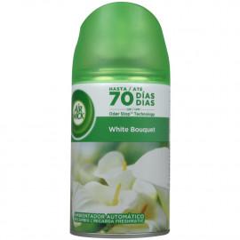 Air Wick refill spray 250 ml. White Flowers.