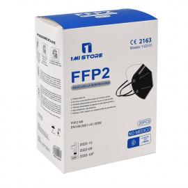 1 Mi store protective facial mask FFP2 1 u. Black minibox.