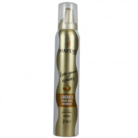 Pantene foam 200 ml. Waves with movement.