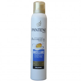 Pantenefoam conditioner 180 ml. Micellar nourishes & purifies.