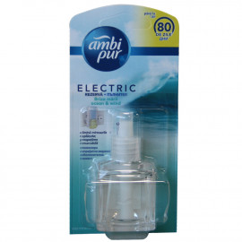 Ambipur electric refill 21,5 ml. Sea breeze.