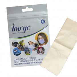 Lov'yc nano anti-fog lens cloth reusable 1 u.
