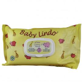Baby Lindo baby wipes 72 u. Pop-up Aloe Vera.
