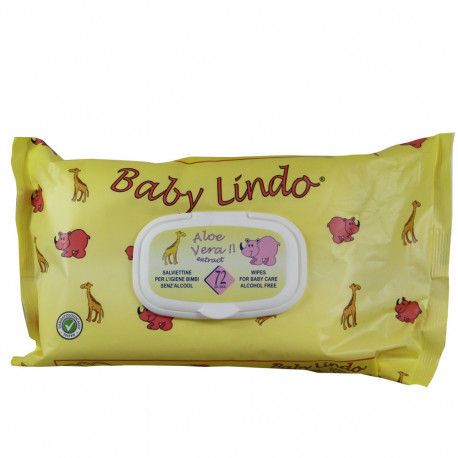 Baby Lindo toallitas pop-up 72 u.