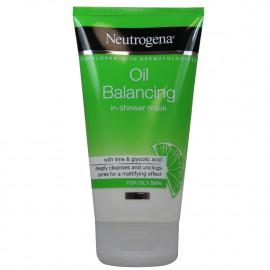 Neutrogena exfoliante 150 ml. Oil balancing reducción de brillos y poros lima.