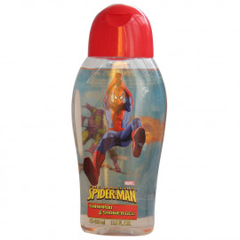 Spiderman gel & shampoo 400 ml. Red.
