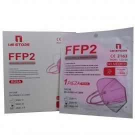 1 Mi store protective facial mask FFP2 1 u. Pink.
