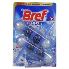 Bref WC Blue Active 2X50 gr. Premium hygienic.