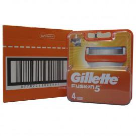 Gillette Fusion blades minibox 4 u.