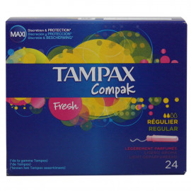 Tampax Compak regular 24 u.