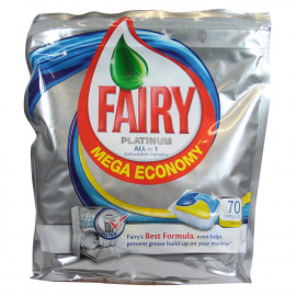 Fairy platinum 70 u. Lemon capsule.