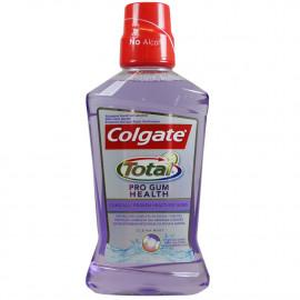 Colgate enjuague bucal 500 ml. Total Encías y Dientes.