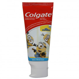 Colgate pasta de dientes 75 ml. Minions Menta Fresca.
