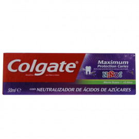 Colgate toothpaste 75 ml. Maximum kids.