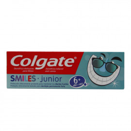 Colgate tootpaste 50 ml. Smiles junior +6 años.