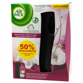Air Wick Air freshener Fresh Matic + refill Smooth Satin & Moon Lilly.