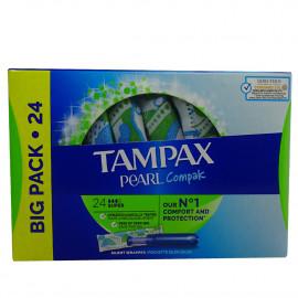 Tampax compak pearl 24 u. Super.