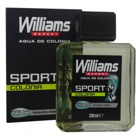 Williams colonia 200 ml. Sport.