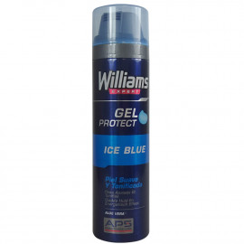 Williams gel de afeitar 200 ml. Ice blue aloe vera.