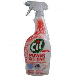 Cif power & shine spray 750 ml. Universal grease remover.