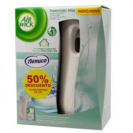 Air Wick ambientador Fresh Matic aparato + recambio Nenuco.