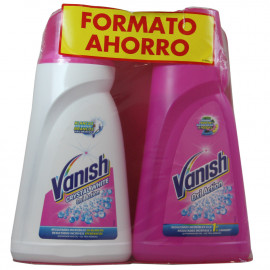 Vanish Oxi Action gel white 1 l + Vanish gel rosa 1 l.
