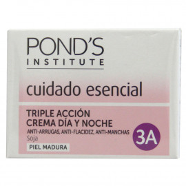 Ponds cream 50 ml. Day and night mature skin of triple action.